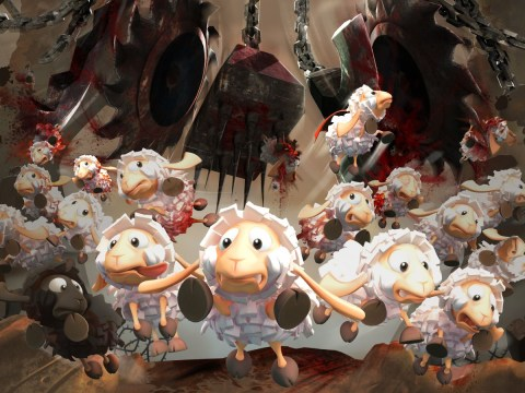 Flockers review – like lemmings to the slaughter