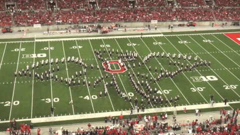 University marching band creates epic tribute to Game of Thrones, The Simpsons and The Office