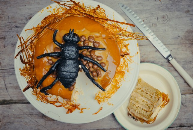 You can't possibly cram more caramel into this cake, but you can try. Photo: Hazel patersion