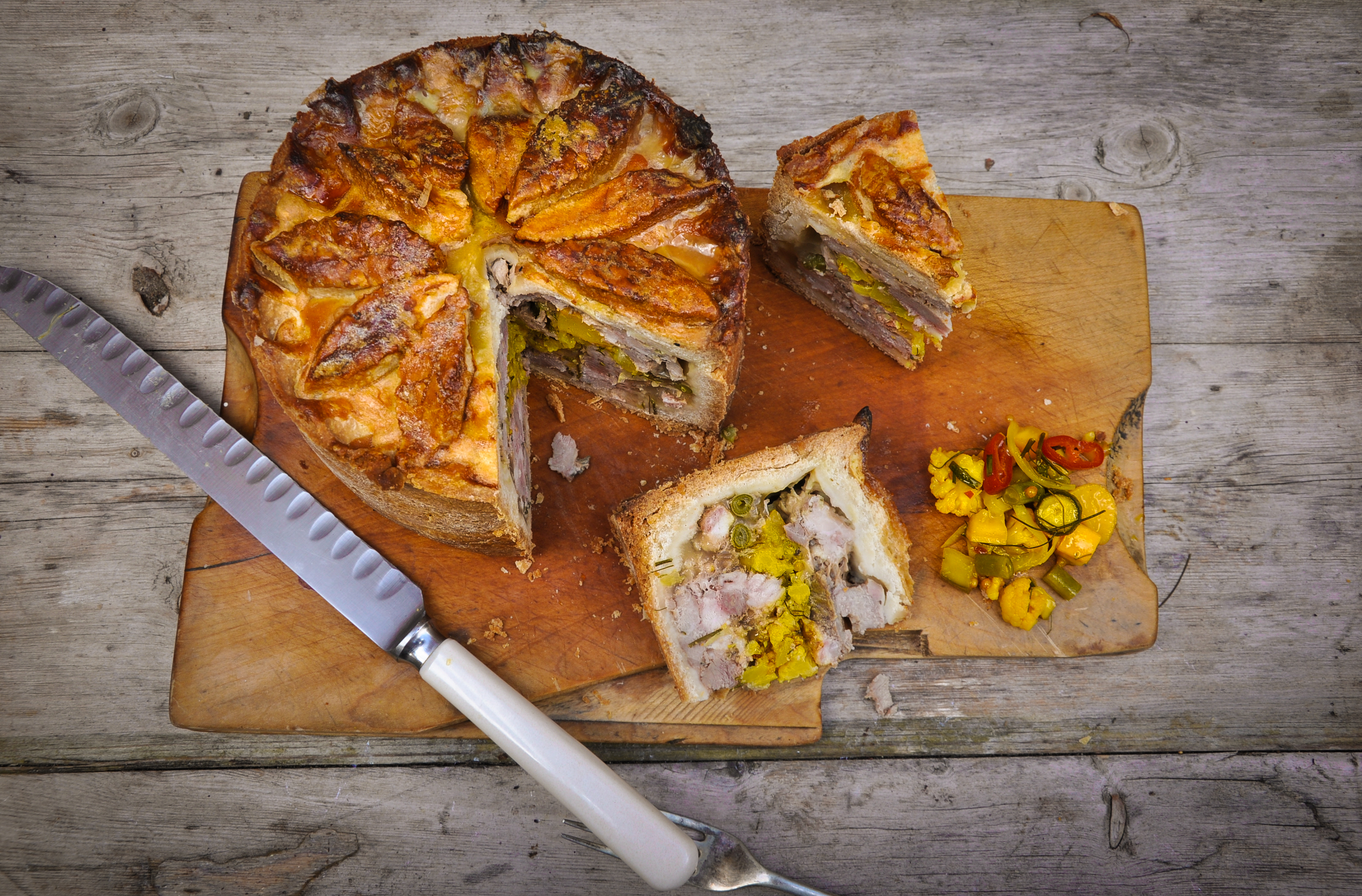 Great British Bake Off recipe: This pork and piccalilli pie is the stuff dreams are made of
