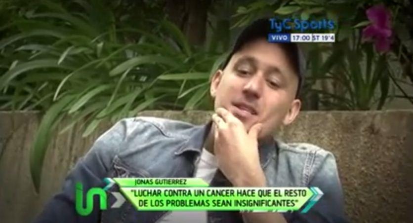 Jonas Gutierrez flooded by fans' support in battle against testicular cancer