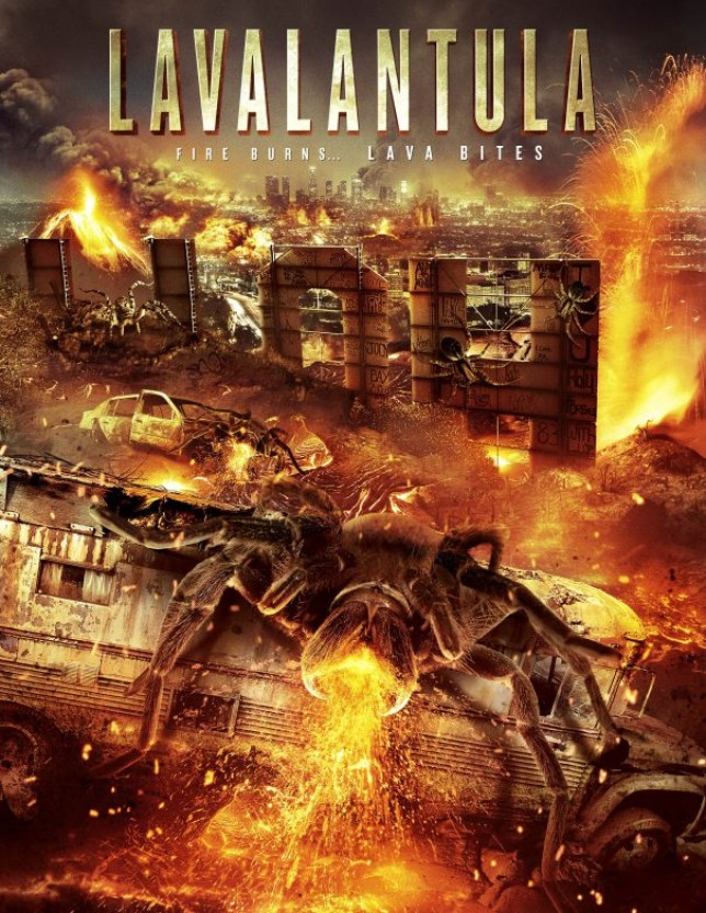 Lavalantula: Fire Burns. Lava Bites (Picture: Syfy)