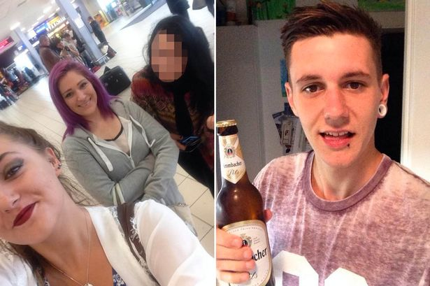Rumbled! Cheating boyfriend's three girlfriends confront him together at airport