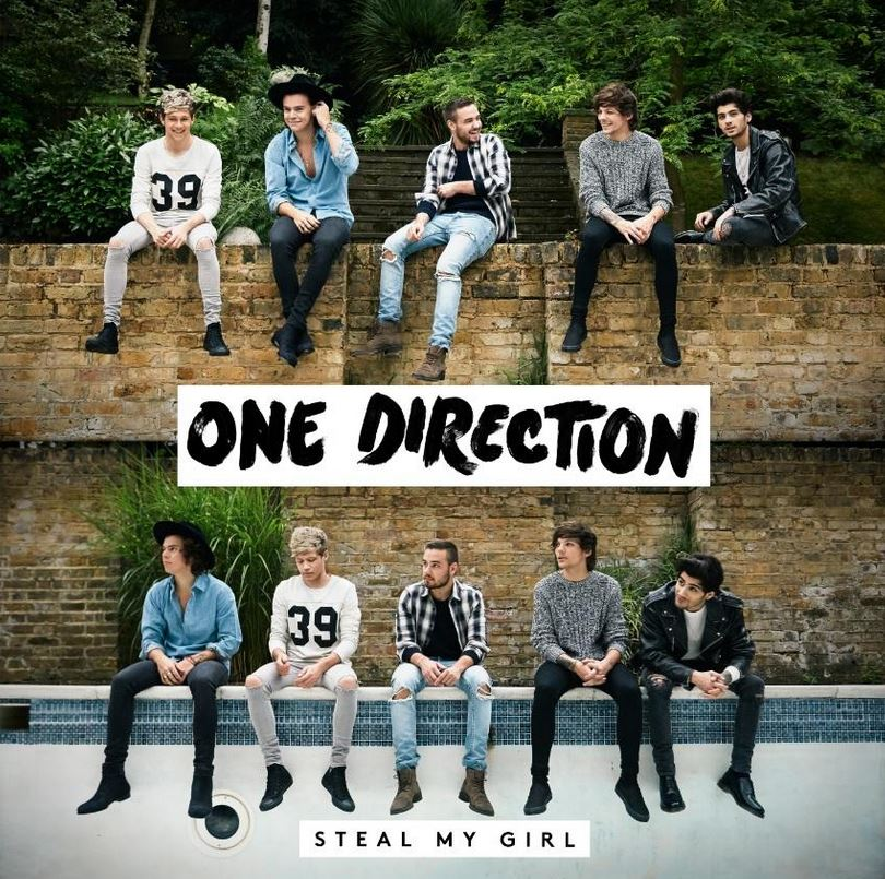 One Direction have revealed the coverart for new single Steal My Girl (Picture: One Direction Twitter)