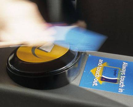 'Contactless' system allows London rail users to pay fares using debit or credit cards