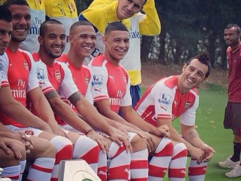 Lukas Podolski trolls Ashley Cole on Instagram – after photoshopping Roma defender into Arsenal team photo