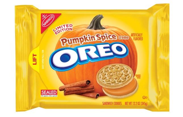 Pumpkin spiced oreos