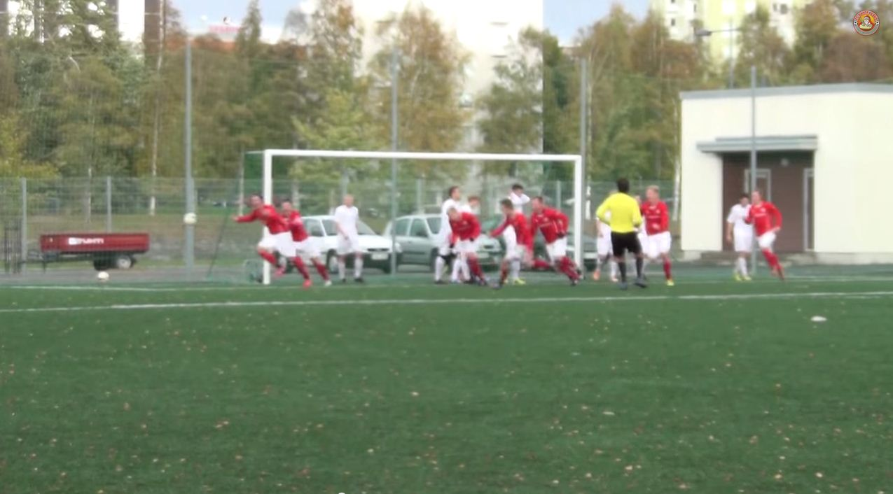 Christmas comes early for these mad commentators as FC Santa Claus return to the Finnish third division