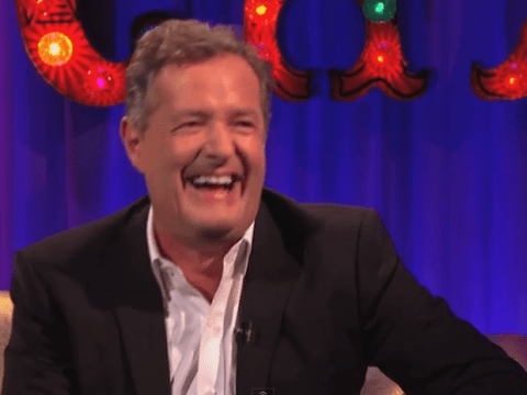 Bitchy Piers Morgan finally apologises to 'repungent' Alan Carr on Chatty Man