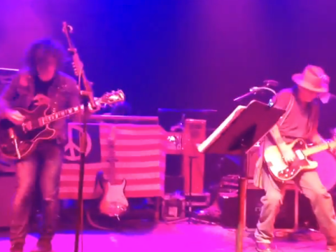 The epic moment Johnny Depp joined Ryan Adams on stage in London