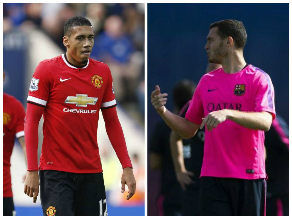 Phil Neville: I wouldn't swap Chris Smalling for Arsenal reject Thomas Vermaelen at Manchester United