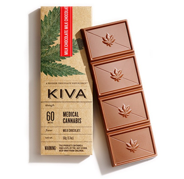 In California you can satisfy two cravings at once (Picture: Kiva Confectionary)