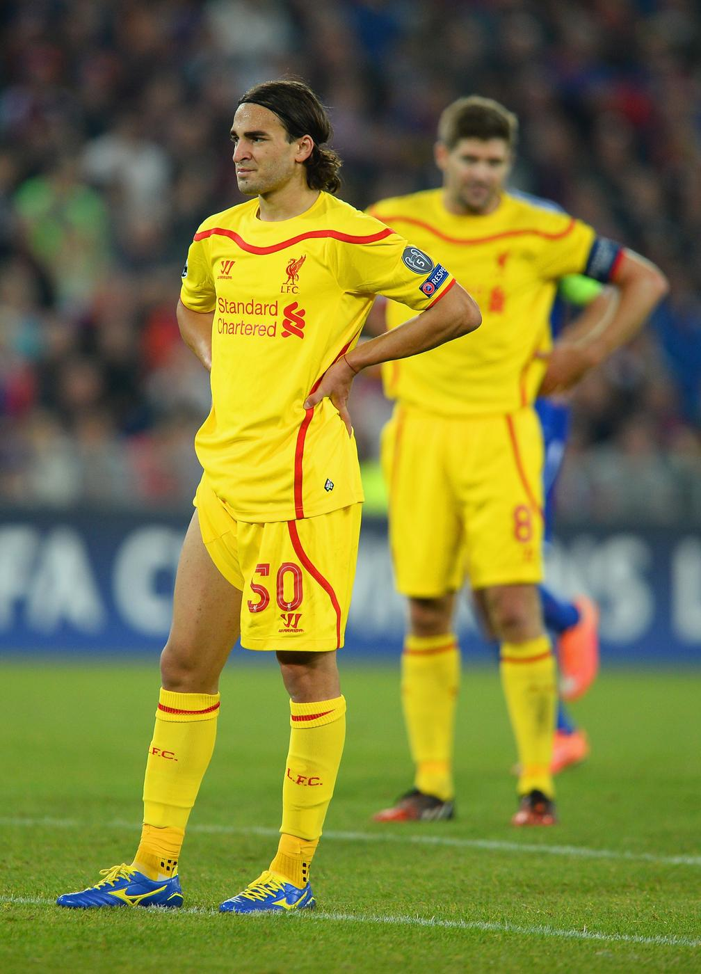 Liverpool left sweating as Lazar Markovic faces one month out with suspected muscle tear