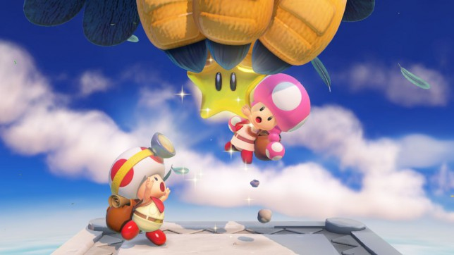 Captain Toad: Treasure Tracker - you can't use the fun guy joke when it's a girl