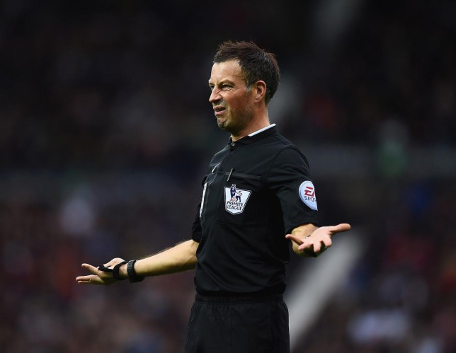 Referee Mark Clattenburg axed from weekend Premier League fixtures after dashing away from West Brom v Crystal Palace for Ed Sheeran concert