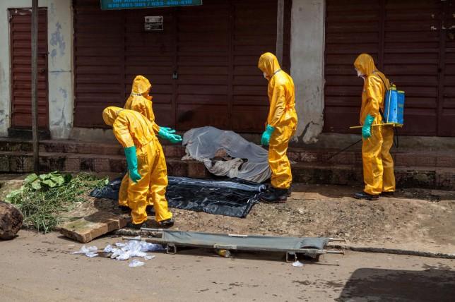 UK deploys 750 troops to Sierra Leone for Ebola battle