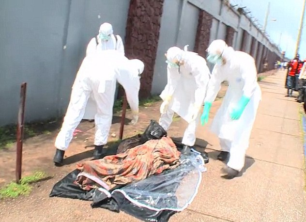 'He's alive!': 'Dead' Ebola victim left in the street for days found to be alive