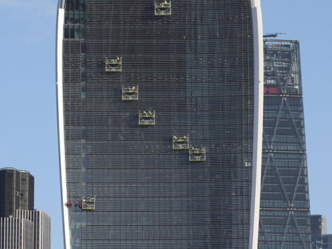 Car-melting Walkie Talkie skyscraper finally fitted with shades