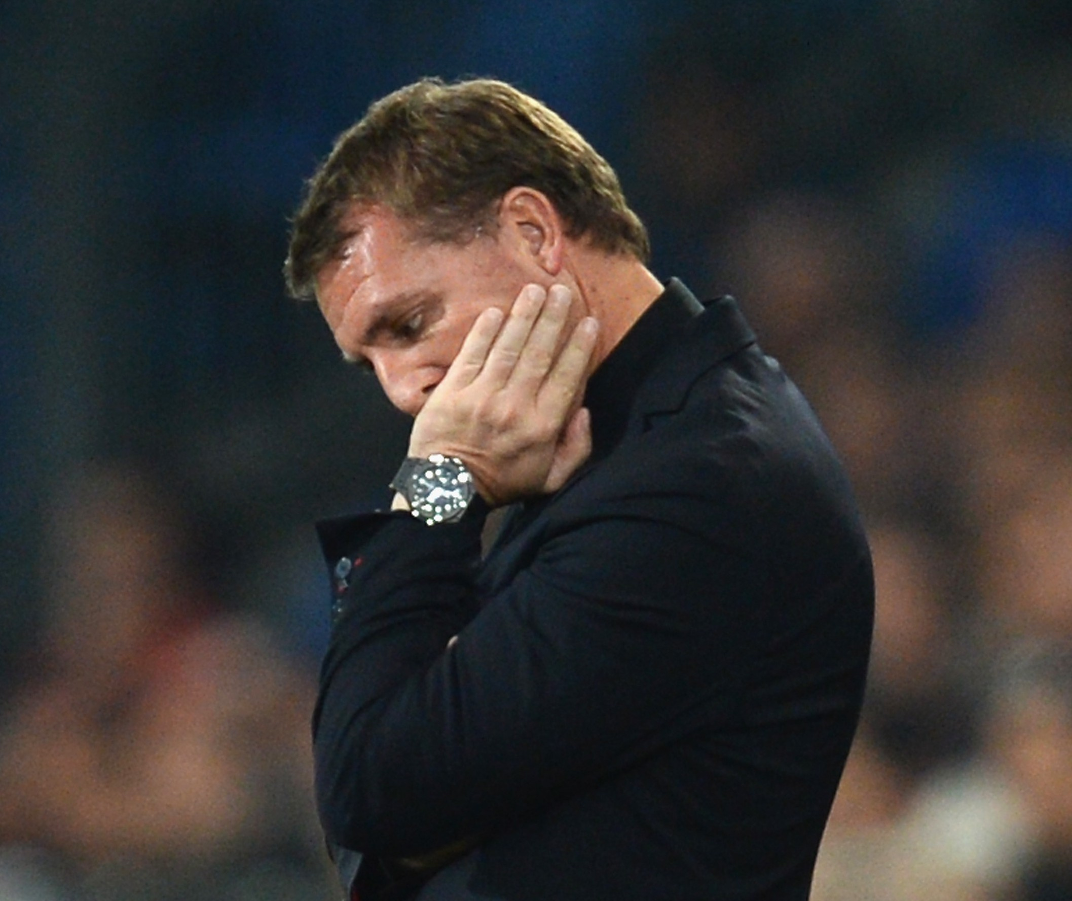 Liverpool manager Brendan Rodgers could be just two games away from the sack