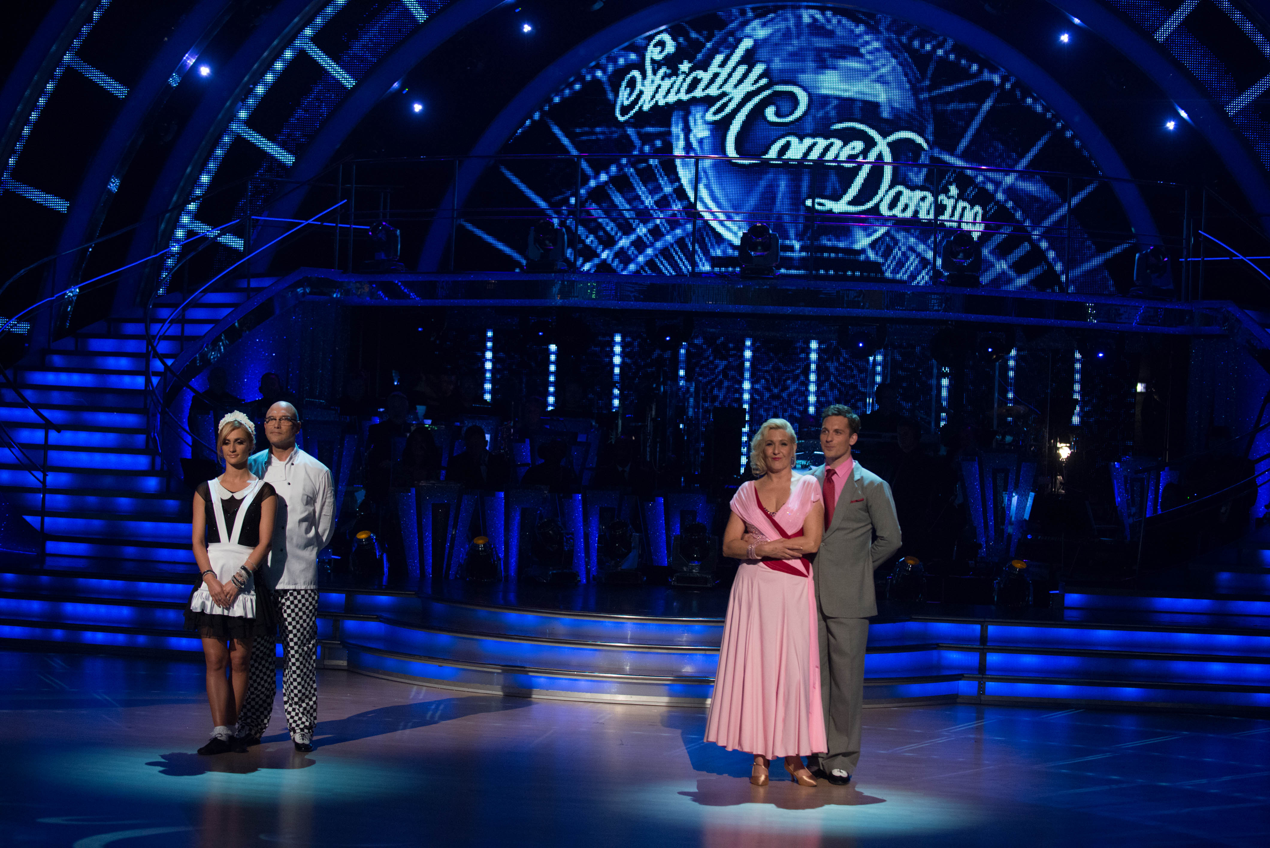 Gregg Wallace hangs up his dancing shoes as he becomes the first Strictly Come Dancing casualty