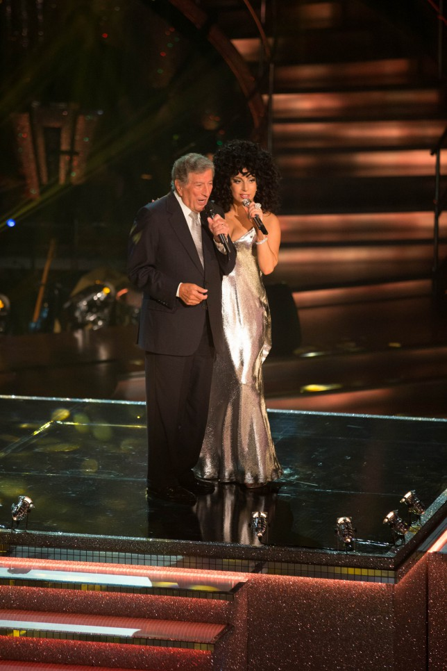 Strictly Come Dancing 2014 results: Lady Gaga and Tony Bennett perform in UK TV first