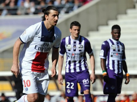 Toulouse attempt novel way to pacify Zlatan Ibrahimovic – by sending Paris Saint-Germain striker birthday presents