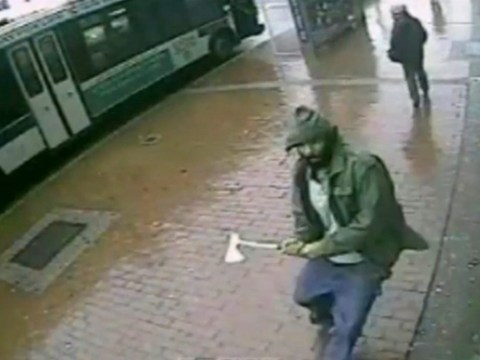 New York axe-attacker shot dead by police was a self-radicalised 'Muslim convert', say NYPD