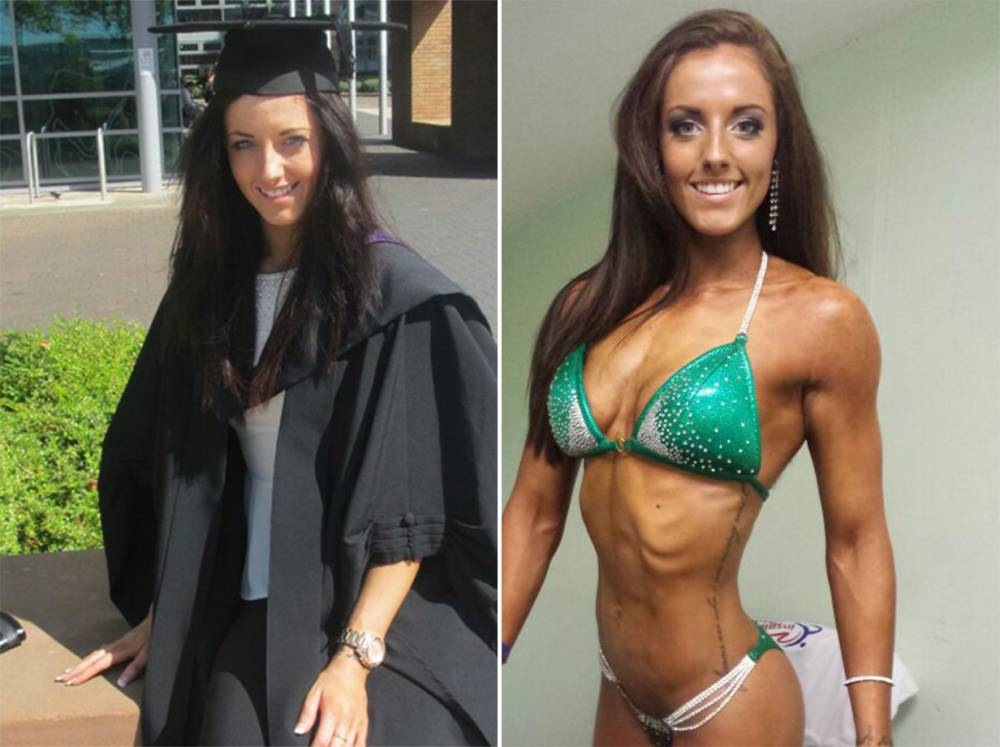 22-year-old Helen Derbyshire bags Miss Bikini Wales title while studying for law degree