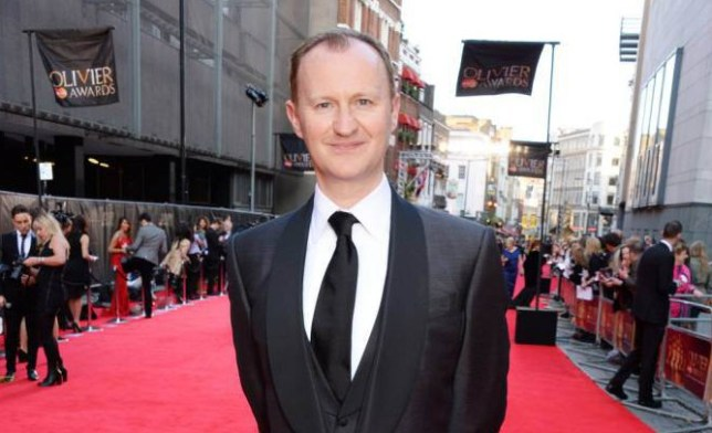 LONDON, ENGLAND - APRIL 13: Mark Gatiss attends the Laurence Olivier Awards at The Royal Opera House on April 13, 2014 in London, England. (Photo by David M. Benett/Getty Images)