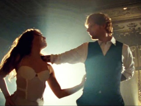 Ed Sheeran shows off dance moves in Thinking Out Loud video and the internet loves it
