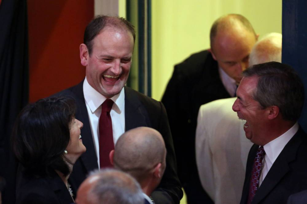 Ukip look unstoppable as Douglas Carswell wins Clacton by-election