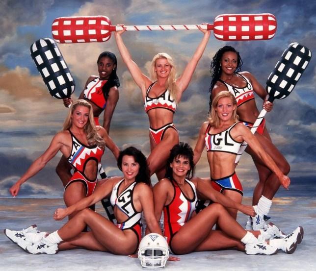 No Merchandising. Editorial Use Only  Mandatory Credit: Photo by ITV/REX (648805go)  'Gladiators' - Female Gladiators  ITV Archive