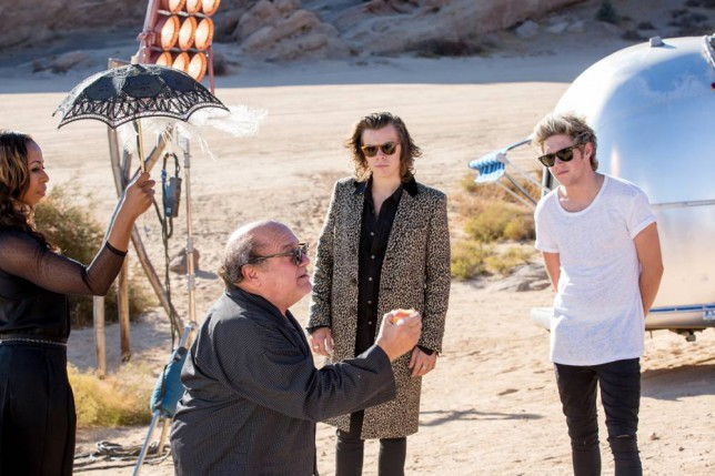 One Direction: Hold on, is that Danny DeVito starring in the new video for Steal My Girl?