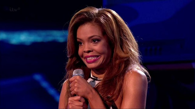 Stephanie Nala faces the judges on the first live show of 'The X Factor'. Shown on ITV1 HD. Featuring: Stephanie Nala Where: United Kingdom When: 11 Oct 2014 Credit: Supplied by WENN **WENN does not claim any ownership including but not limited to Copyright, License in attached material. Fees charged by WENN are for WENN's services only, do not, nor are they intended to, convey to the user any ownership of Copyright, License in material. By publishing this material you expressly agree to indemnify, to hold WENN, its directors, shareholders, employees harmless from any loss, claims, damages, demands, expenses (including legal fees), any causes of action, allegation against WENN arising out of, connected in any way with publication of the material.**