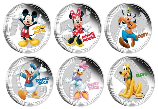 Disney characters on coins,  Niue