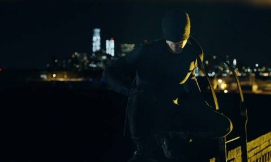Charlie Cox loses the red horns in Marvel's Daredevil. Photograph: Netflix © 2014 Netflix, Inc