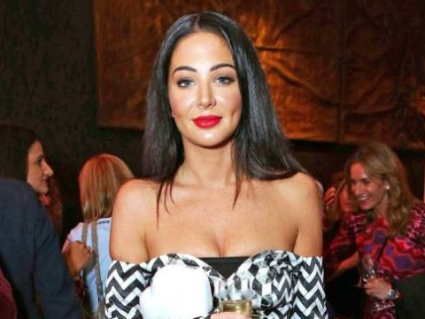 Let's just take a moment to appreciate how sophisticated chic Tulisa looked at Jonathan Shalit's OBE party