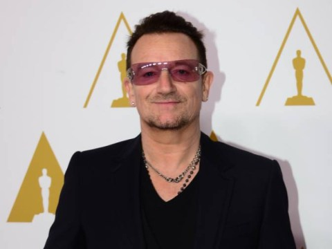 Bono reveals he may 'never play guitar again' following hand injury