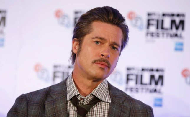 "LONDON, ENGLAND - OCTOBER 19:  Actor Brad Pitt attends the press conference for ""Fury"" during the 58th BFI London Film Festival at The Corinthia Hotel on October 19, 2014 in London, England.  (Photo by Tim P. Whitby/Getty Images for BFI)"