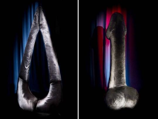 Giant penis Bristol