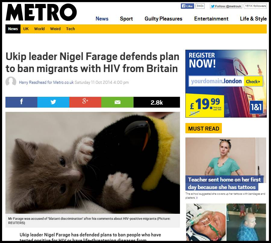 Less Farage, more kitten – new app solves all our problems