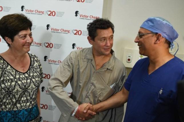Heart transplant recipients, Australia