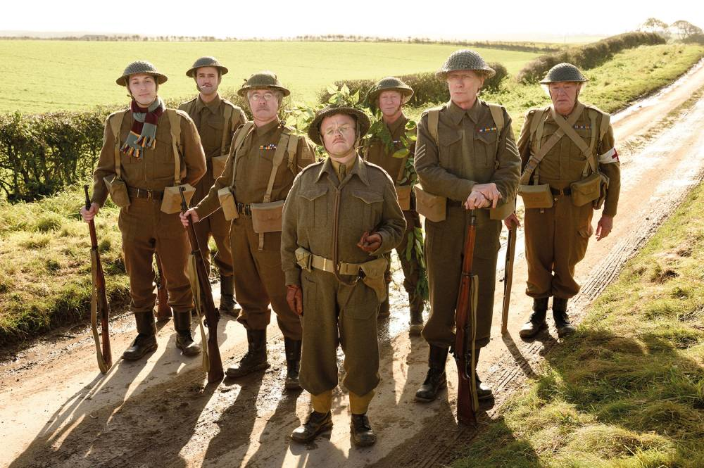 Here's your first official look at the cast of the Dad's Army movie