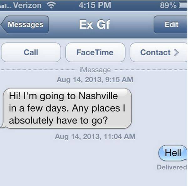 How to get your ex to stop texting you