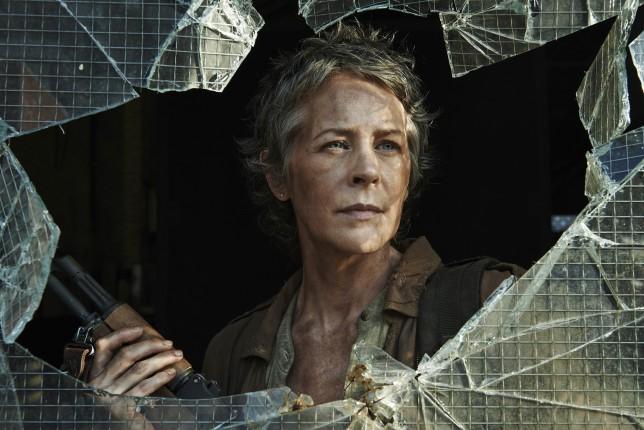Melissa McBride as Carol Peletier in The Walking Dead season 5
