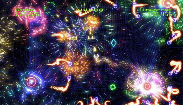 Geometry Wars - it's nothing like Assassin's Creed