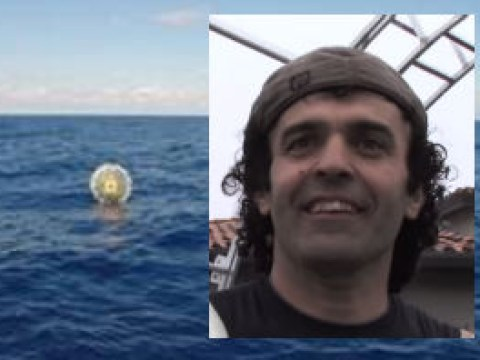 Man rescued from huge inflatable bubble while trying to get to Bermuda