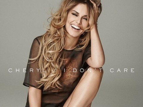 Cheryl Cole rolls around in just a shirt in new video for I Don't Care