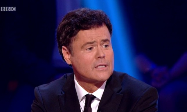 Donny Osmond Strictly Come Dancing