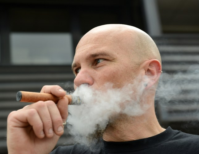 Vapefest, Shrewsbury, Britain - 02 Aug 2014